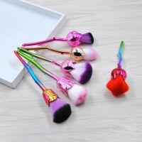 kainuoa/凯诺化妆刷工厂批发6支玫瑰花化妆刷套装 盒装美容刷彩妆工具