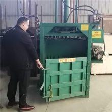 自动推包废金属边角料打块机 富兴碎布头打包机 废铝废铁压块机图片