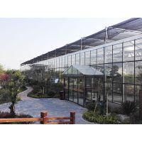 生态餐厅温室 山东豪达瑞科抗老化热镀锌玻璃温室