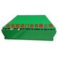 供应 集装箱升降卸货平台 配置与工业门互锁的安全保护装置