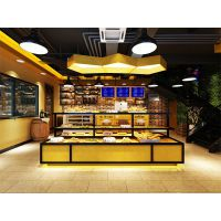 蛇口西式烘培店空间如何设计装修