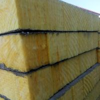 A级玻璃棉复合板 盈辉厂家直销 高强度玻璃纤维保温板