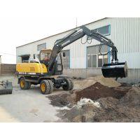 多功能建设用轮式挖掘机