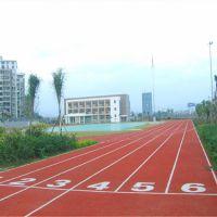 体育场塑胶跑道面层铺设混合型塑胶跑道施工经济环保材料厂家供应