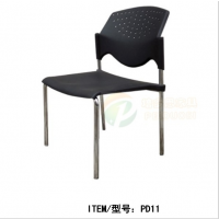 塑钢会议椅培训椅带轮招待会用椅高档办公椅会议椅批发