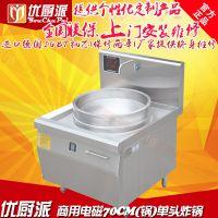 优厨派商用电磁炸锅,控温电炸锅,大容量商用电磁炸炉
