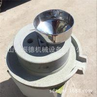 晋州  60型家用电磨浆机 肠粉香油石磨机 豆浆石磨机 振德牌
