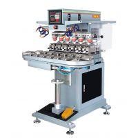 厂家出售六色轻型转盘移印机 GN-133AEB优质移印机
