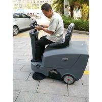 广西养殖场用扫地机清扫树叶灰尘保洁用驾驶式扫地机