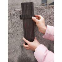 上海别墅阳光房铝合金雨落水管排水系统