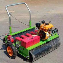 拉萨手推无动力播种机 温室油菜精播机 草坪种草播种机