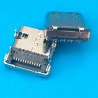 TYPE-C板上带弹片/后盖半包/DIP+SMT/四脚插板/USB 3.1/电源专用
