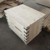供应平度木箱定做厂家青岛周边出口标准胶合板