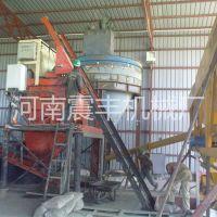 震丰机械厂家直销 双布料液压砌块成型机免烧环保砌块制砖机