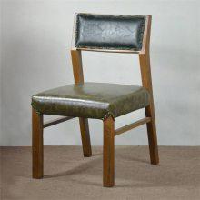 牛排店实木椅子定制,河源北欧风格实木软包椅子
