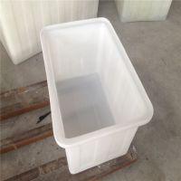 150LPE食品级牛筋塑料水产养殖箱加厚长方形储水方箱浅盆养鱼养龟