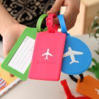 【清仓】创意纯色硅胶行李卡牌公交卡套多色地铁卡套