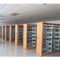 源丰办公家具厂家定制加工山西太原阅览室图书架,展示书柜