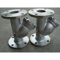 厂家直销 双法兰过滤器 瑞园牌碳钢焊接法兰过滤器