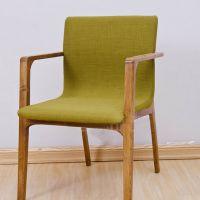海德利简约现代休闲办公时尚实木家用创意现代简约靠背酒店洽谈椅