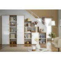 创意板式简约现代书柜组合收纳置物架