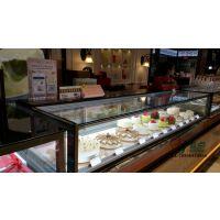 直销蛋糕冷藏展示柜,单层直角蛋糕柜,甜品存放保鲜柜定做