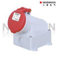 上曼电气正品NENMMAN 明装插座 TYP:105 三相四孔16A-6H IP44
