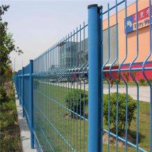 市政园林护栏网@开发区厂房围墙网@绿色铁丝网美观耐用