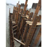 聊城钢板桩施工公司,枣庄拉森钢板桩施工,打拔拉森钢板桩施工