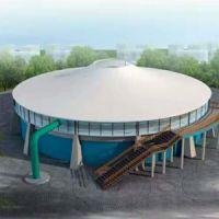 污水池膜结构 PVDF公交汽车充电桩园林景观张拉膜