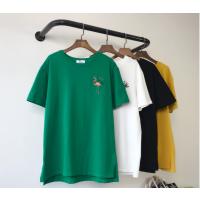 淮阳便宜女式T恤夏季热卖女装短袖时尚T恤库存杂款女装上衣厂家直销
