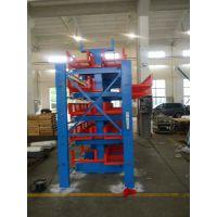 伸缩悬臂式货架厂家 江苏管材货架安装 钢管仓库专用架 5吨悬臂架