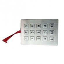 电话不锈钢按键,自助机配套金属按键