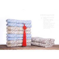 中国结毛巾厂家直销竹纤维牵手毛巾批发一件代发8539
