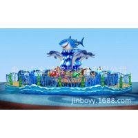 金博激战鲨鱼岛 大型游艺设备激战鲨鱼岛
