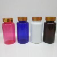 山东厂家专业生产200mlPET保健品塑料瓶 固体圆柱塑料瓶