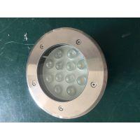 广万达户外照明 LED埋地灯 12W圆形地埋灯