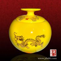 景德镇陶瓷罐子定做厂家 定制个性陶瓷罐子logo