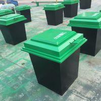 河北唐山垃圾箱玻璃钢耐腐地埋式垃圾箱