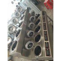 高昇厨具双层单列10头电煲仔饭机