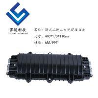 12芯24芯48芯72芯96芯卧式二进二出光缆接头盒螺丝防脱落式