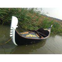 【冯氏木船】豪华贡多拉木船威尼斯贡多拉两头尖欧式木船贡多拉手划船