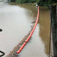 高强度汛期拦污排 水电站树枝垃圾飘浮物拦截浮筒