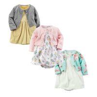 一件代发招代理 春秋新款 女小童两件套 哈裙小外套 女宝宝两件套