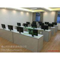 科桌K18自动升降电脑桌 显示器升降式电脑桌 政府会议办公台 简约