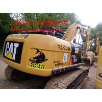 广西卡特323挖掘机 卡特挖机厂家直销 上海二手挖掘机市场质量三包
