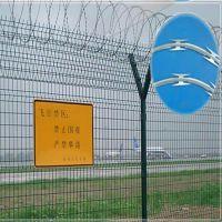 昆明Y型机场护栏网|机场护栏网该如何安装|冠威浸塑围栏网价格