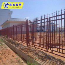 优质肇庆烤漆护栏 阳江围墙钢栅栏 茂名高速服务区围墙网 厂区防爬围栏图