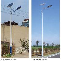 山东普硕光电农村太阳能路灯TYN02103六米二十瓦照明时间8小时LED路灯