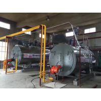 供应wns燃气2t蒸汽锅炉 燃油热水锅炉热效率高节能显著